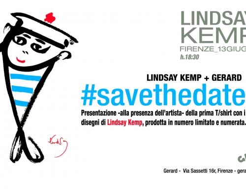 13 giugno 17 – Lindsay Kemp + Gerard